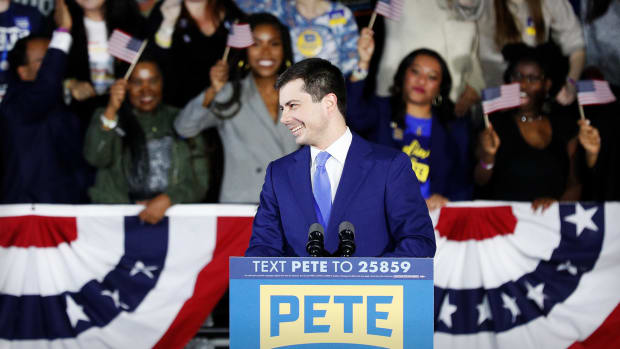 Pete Buttigieg Lead