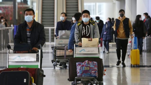 The new rule of 14 days' mandatory quarantine for anyone coming from the mainland to curb the coronavirus outbreak has further discouraged people from visiting Hong Kong. Photo: Jonathan Wong