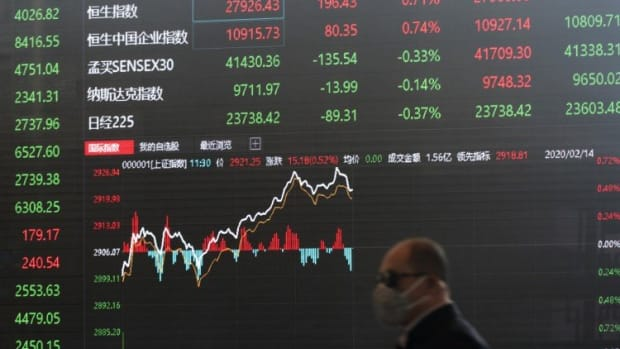 China's Stock Market Indexes Recuperate From Coronavirus Shock, Boosted By Government's Containment And Stimulus Policies
