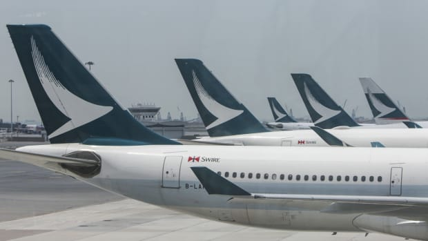 The outbreak of the deadly coronavirus has had a drastic financial impact on Cathay Pacific, along with many other global airlines. Photo: Winson Wong