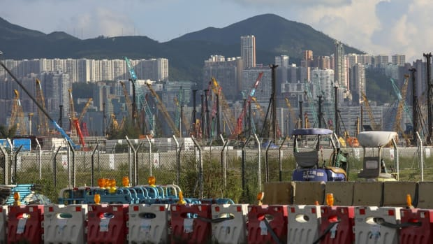 Hong Kong's construction sector is estimated to have lost as many as 50,000 jobs since the outbreak of the coronavirus. Photo: Felix Wong