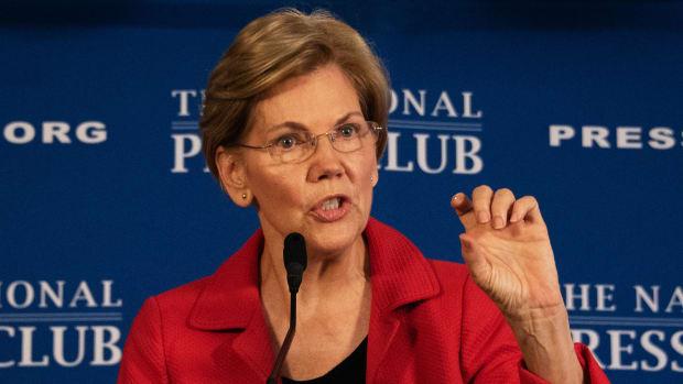 Elizabeth Warren Lead