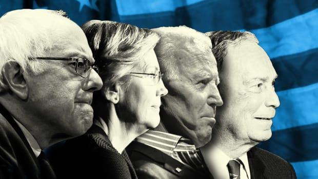 Democratic Candidates Lead
