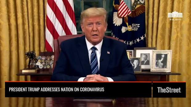 WATCH: President Trump's Oval Office Coronavirus Address