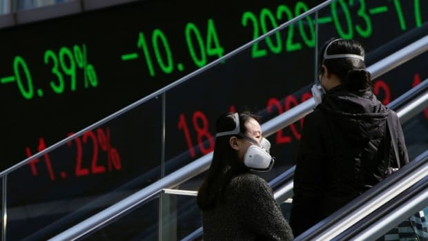 Chinese Stocks Tumble As Investors Prepare For Earnings Slump, Eye Bigger Stimulus To Revive Growth