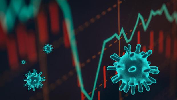 Market Down Coronavirus Lead
