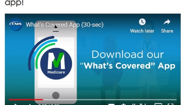 Tip of the Week: Get Medicare's What's Covered app