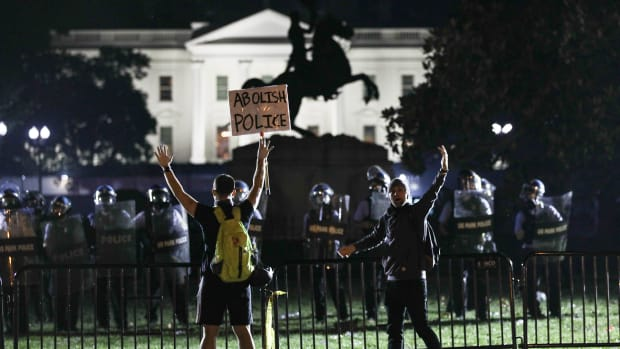 George Floyd Protests Lead
