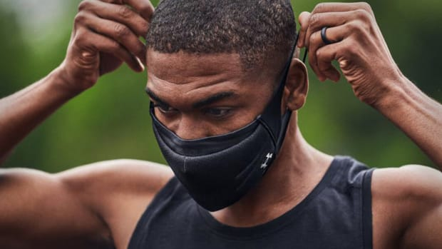 Under Armour Coronavirus Athletic Mask Lead