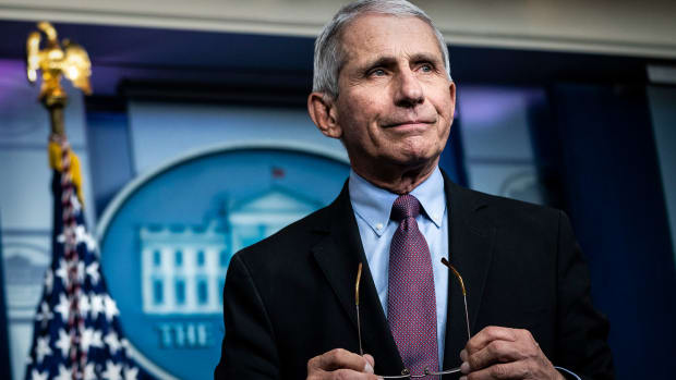 Dr. Anthony Fauci Lead