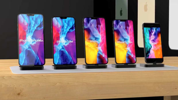 Table with all of Apple's rumored iPhone 12 models