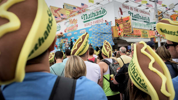 Nathan's Famous Lead