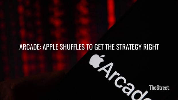Arcade Apple Shuffles To Get The Strategy (Video)