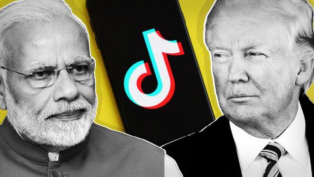 Narendra Modi TikTok Trump Lead