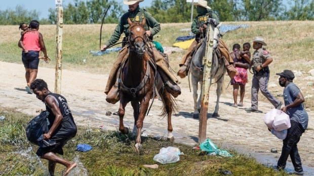 White House Condemns 'whipping' Of Haiti Migrants By Border Guard On Horseback