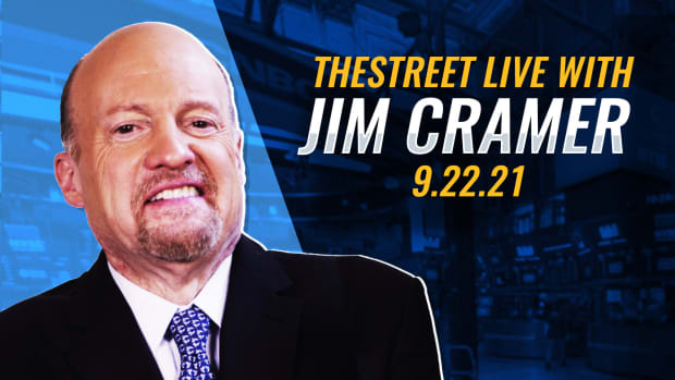 Watch Cramer on TheStreet Live 9/22/21