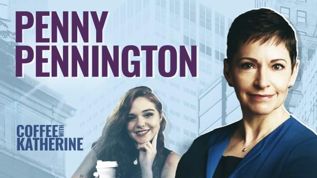 Penny Pennington Coffee With Katherine Lead