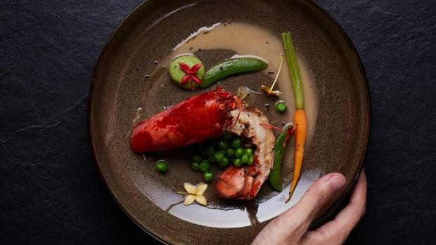 michelin food plate restaurant dine sh