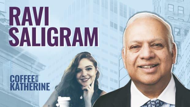 Ravi Saligram Coffee With Katherine Lead