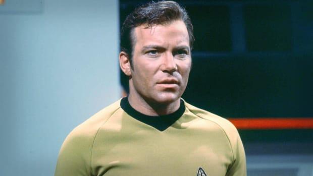 William Shatner James T Kirk Lead