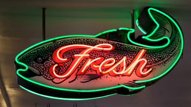 Fresh fish promo Seattle sh