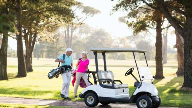 retired golf sh