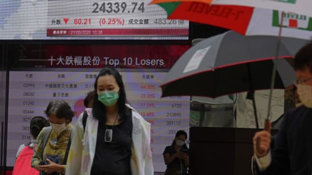 Hong Kong Stocks Gain On Budweiser Earnings While Chinese Vaccine Makers Sink Amid Concerns About Patent, Rights