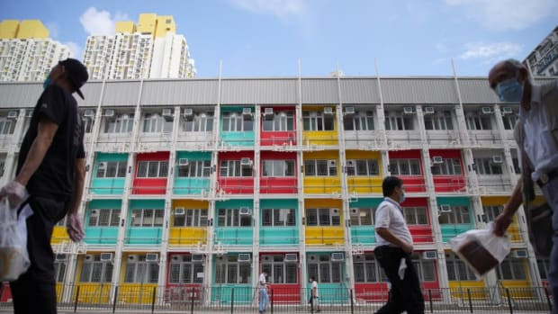 Hong Kong Lawmaker Questions Need For Subsidy Payments To Entice Landlords To Take Part In Temporary Housing Scheme