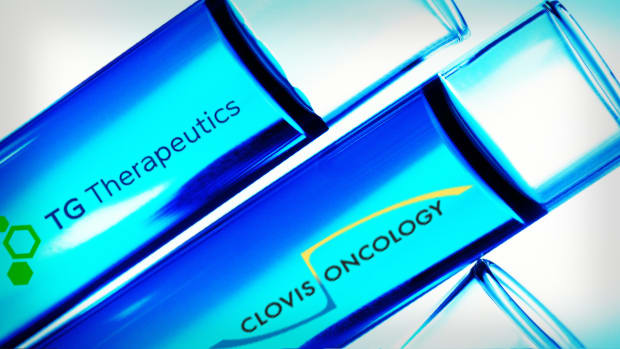 TG Therapeutics Clovis Oncology Lead