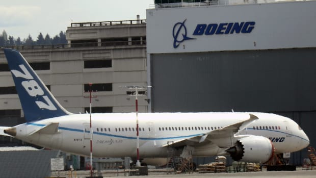 Boeing Planes at Airport