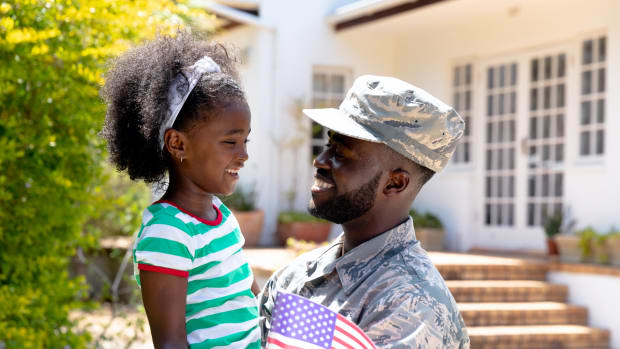 military veteran father daughter sh