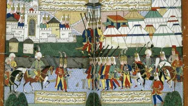Drought's effects on the population slowed the Ottoman Empire's expansion in the 16th century. Lessing Archives