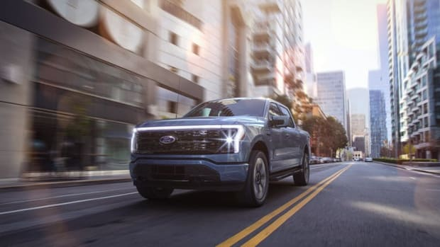 """Ford calls its all-electric F-150 Lightning """"the truck of the future."""" Ford, CC BY-ND"""