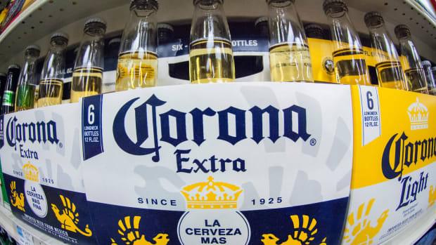 Constellation Brands Corona Lead