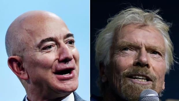 Bezos Branson