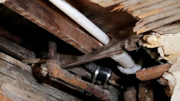 Lead in pipes can contaminate the water supply, resulting in poisoning.