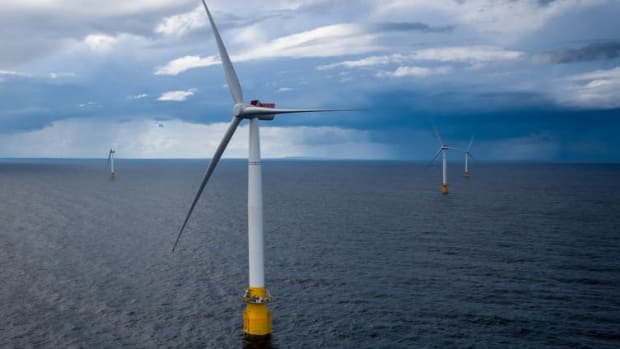 Equinor's Hywind Scotland became the world's first floating wind farm in 2017.
