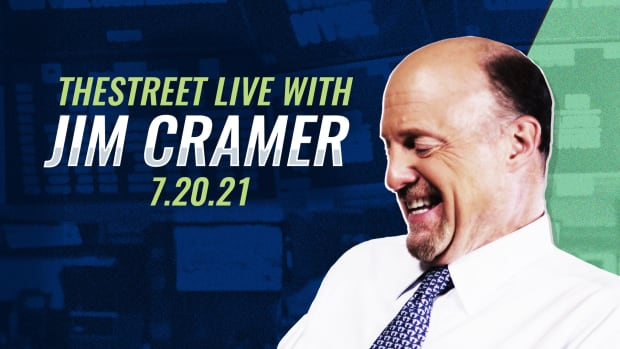 Watch Jim Cramer on TheStreet Live 7/20/21