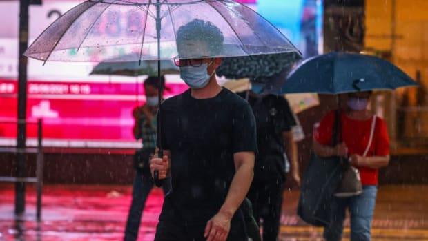 Bright Smart Securities Takes Out Newspaper Ads Calling For Hong Kong Stock Exchange To Stay Open During Typhoons, Heavy Rain
