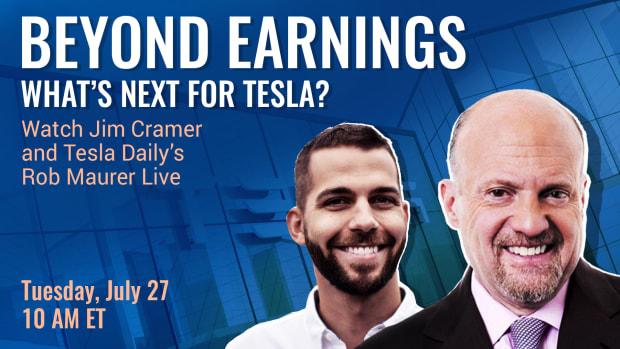 Watch Jim Cramer, Tesla Daily Live