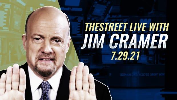 Watch Jim Cramer on TheStreet 7/29