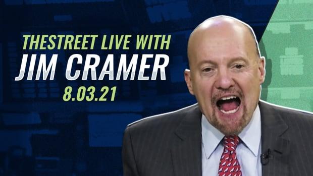 Watch Jim Cramer Live 8/3/21
