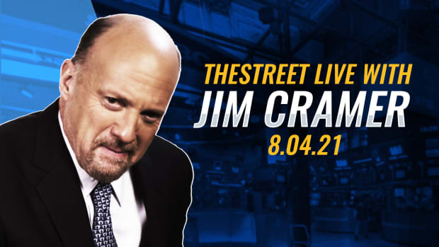 Watch Jim Cramer on TheStreet 8/4/21