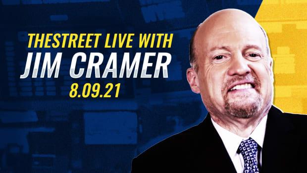 Watch Jim Cramer on TheStreet 8/9