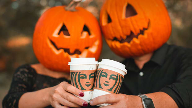 Starbucks Pumpkin Spice Latte Lead