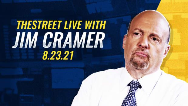 Watch Jim Cramer on TheStreet 8/23/21