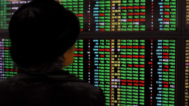 Hong Kong Stocks Fall As China's Services Activity Contracted, Adding To Slowdown Concerns
