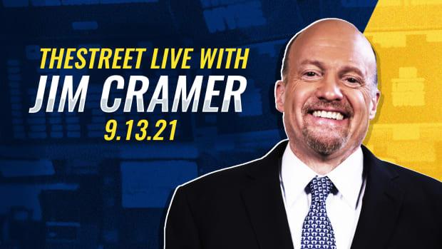 Watch Cramer Live 9/13