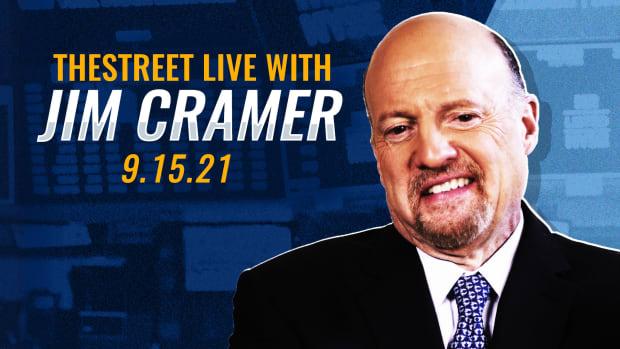 Watch Jim Cramer on TheStreet Live 9/15
