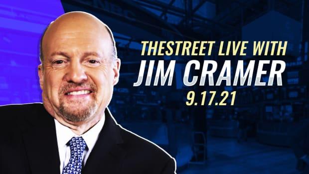 Watch Jim Cramer on TheStreet 9/17/21